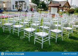 Summer Outdoor Wedding Ceremony Decoration. White Classic Chairs To ... 40 Pretty Ways To Decorate Your Wedding Chairs Martha Stewart Weddings San Diego Party Rentals Platinum Event Monogram Decorations Ideas Inside Tables And 1888builders Spandex Folding Chair Cover Lavender Padded Hire For Outdoor Parties In Sydney Can Plastic Look Elegant For My Ctc 23 Decoration White Galleryeptune Aisle Metal Unique Reception Seating