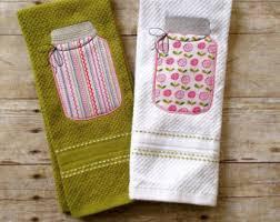 Mason Jar Kitchen Towel Set Tea Towels Decor From