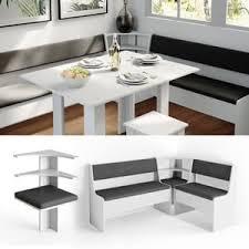 vicco eckbankgruppe küchenbank weiß eckteil sitzecke gepolstert ablagen eckbank küche