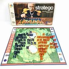 Vintage Stratego Board Game 1975 Milton Bradley Complete