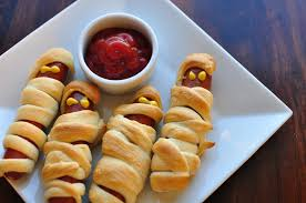 Halloween Hotdog Fingers Recipe by Halloweenies Crescent Mummy Dogs Meg U0027s Everyday Indulgence