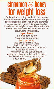 The Real Healthwives Cinnamon Honey = Weight Loss