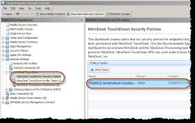 NitroDesk TouchDown Configuration v19