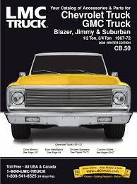 100 Lnc Truck 19671972 Chevy GMC Parts Catalog Headlamp Brake