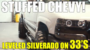 HOW TO Fit 33s And 20x12s On A Leveled Chevy Silverado 99-06 1500 ...