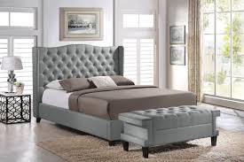 Joss And Main Wingback Headboard by 2 Piece Norwich Upholstered Platform Bed U0026 Bench Set U0026 Reviews