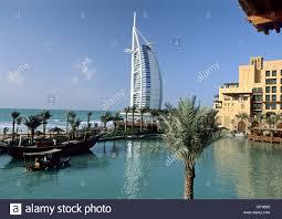 100 English Architects United Arab Emirates Dubai Madinath Jumeirah Hotel View On The Burj