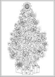 Creative Haven CHRISTMAS TREES Coloring Book By Barbara Lanza
