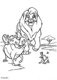 Lion King Coloring Page 254