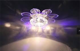 new corridor stairs lotus ceiling lights fan modern lotus