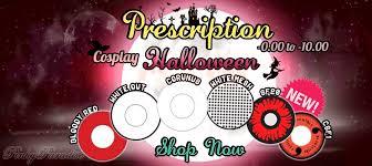 Halloween Contacts Cheap No Prescription by Prescription Halloween Contact Lenses Pinkyparadise