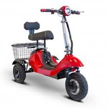 E Wheels EW 19 SPORTY Three Wheel Electric Mobility Scooter