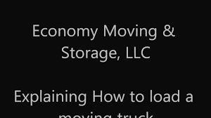 100 How To Load A Moving Truck To Pack Or A POD Or Storage Unit YouTube