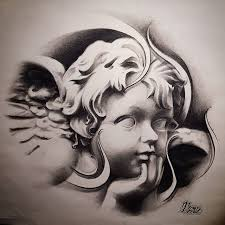Angel Face Tattoo Design Tattoos 65 000 Designs