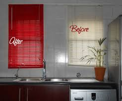 i have these plastic blinds in my kitchen they re great because