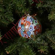 Murano Glass Christmas Ornament
