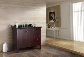 42 Inch Bathroom Vanity With Granite Top by Ove Decors Gavin 42 Bathroom 42 Inch Vanity Ensemble With Black