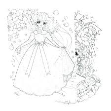 Kawaii Coloring Pages Also Characters Girl