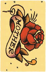 Sailor Jerry Rose Tattoo Designs 3 Mother Print Photo 2