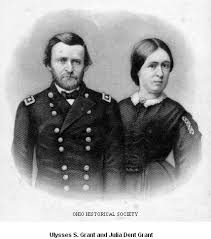Julia Grant And Her Husband Image OhioPix