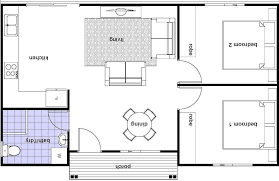 100 One Bedroom Granny Flats Flat Floor Plans 2 S SIMPLE HOUSE PLANS