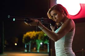 Halloween 2007 Soundtrack Imdb by Sarah Dumont Wielding A Shotgun In Scouts Guide To The Zombie
