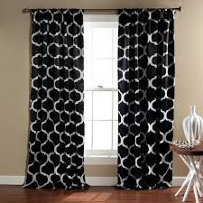 Lush Decor Window Curtains by Geo Blackout Curtain Panel Set Of 2 Walmart Com