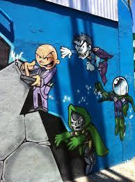 Mac Dre Mural Sf by Superhero Graffiti In San Francisco Graffiti Superheroes