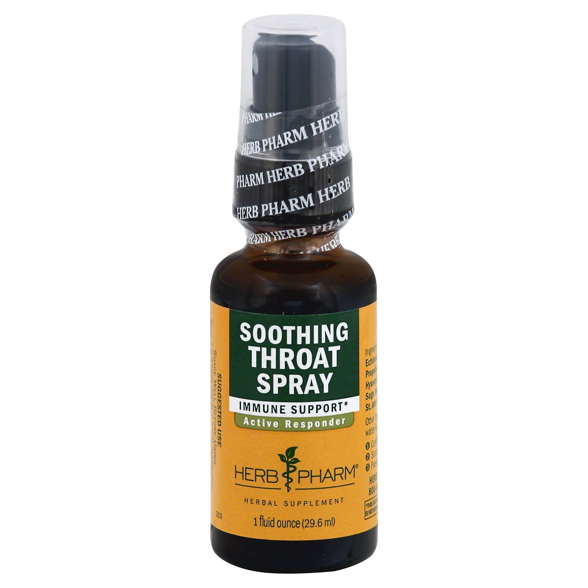 Herb Pharm Soothing Throat Spray - 1 fl oz