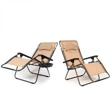 100 Oversized Padded Folding Chairs BELLEZE XL Zero Gravity Case Of 2 Foldable