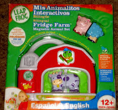 NEW LeapFrog Fridge Farm Magnetic Barn English / Spanish Bilingual ... Leapfrog Toysrus Learn To Count Numbers And Names Of Toy Foods Cutting Food With Amazoncom Fridge Farm Magnetic Animal Set Toys Games Leap Frog Red Barn Replacement Duck Phonics Animals Learning J Dancing Her Youtube Sold Out Word Builder Activity For Babies Toy Mercari Buy Sell Wash Go Vehicles Letters Sun Base
