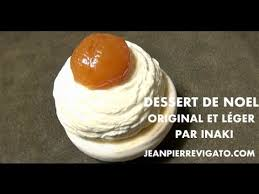 dessert de noël original léger et facile la boule de noël