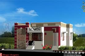 Baby Nursery. Single Floor Building: Single Floor House Front ... Floor Plan Modern Single Home Indian House Plans Building Elevation Good Decorating Ideas Front Designs Simple Exterior Design Home Design Httpswww Download Tercine Beauteous Small Elevations New Erven 500sq M Modern In In Style Best