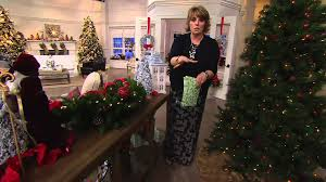 Qvc Christmas Tree With Remote by Bethlehem Lights Mixed Greens And Berry Swag Or Urn Filler On Qvc
