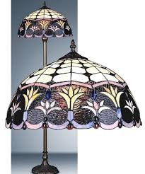 Tiffany Style Lamps Canada by Spring Weeds Tiffany Floor Lamp Amazon Co Uk Lighting