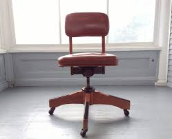 Vintage MidCentury Industrial Office Chair Rolling Desk Chair Robert ...