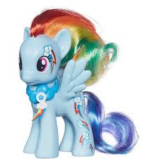 my pony cutie magic rainbow dash figure walmart