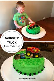 100 Monster Truck Cake Pan Bybmg Two Layer Birthday Tutorial