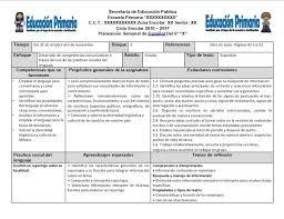 Planeaciones del to grado del segundo bloque del ciclo escolar