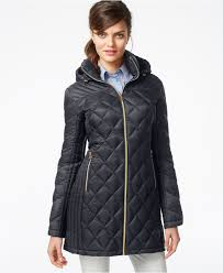 Lyst Michael kors Michael Packable Quilted Down Puffer Coat in Black