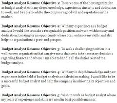 Goal Objective Examples For Resume Writing Workshop Dew Drops