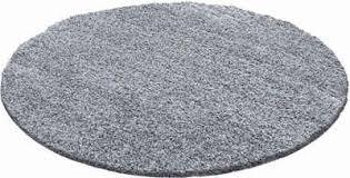 hochflor teppich shaggy 1500 ayyildiz rund höhe 30 mm wohnzimmer