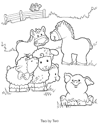 Farm Coloring Pages Gallery Website Animals Book