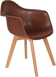 ts ideen 1x design stuhl wohnzimmer esstisch küchen esszimmer sitz braun holz buche