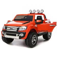 100 Kids Electric Truck Licensed Ford Ranger 12V Rechargeable Battery Ride On Car