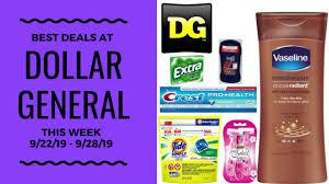 Best Deals At Dollar General This Week 9/22 - 9/28/19