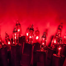 PureLock Red Mini Christmas Lights