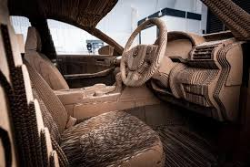 The Interior Of Lexus Origami Car
