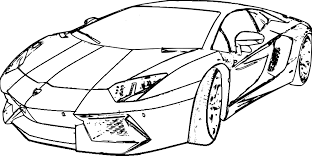 Great Lamborghini Coloring Page 92 On Picture With