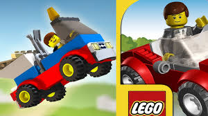 Children's LEGO GAME & CARTOON LEGO® Juniors Create Car Racecar ...